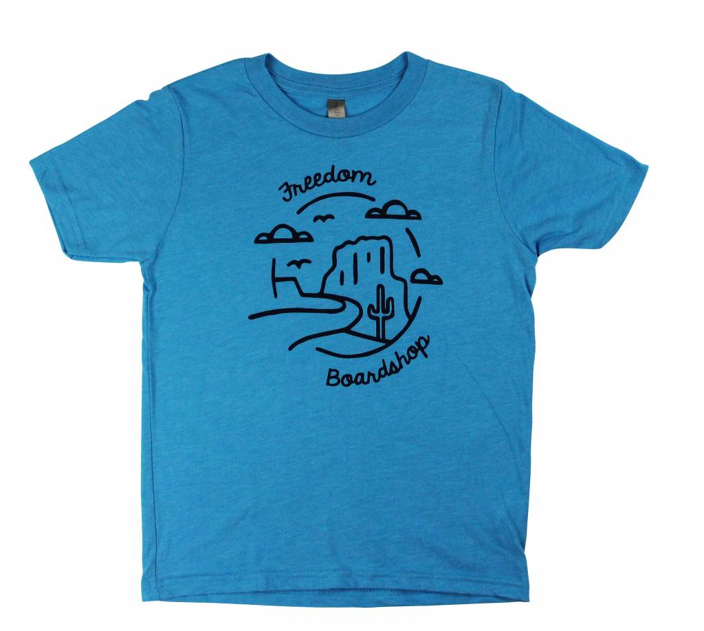 Freedom Boardshop TEE-FREEDOM KIDS LANDSCAPE