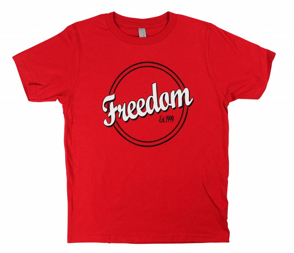 Freedom Boardshop TEE-FREEDOM KIDS RINGS