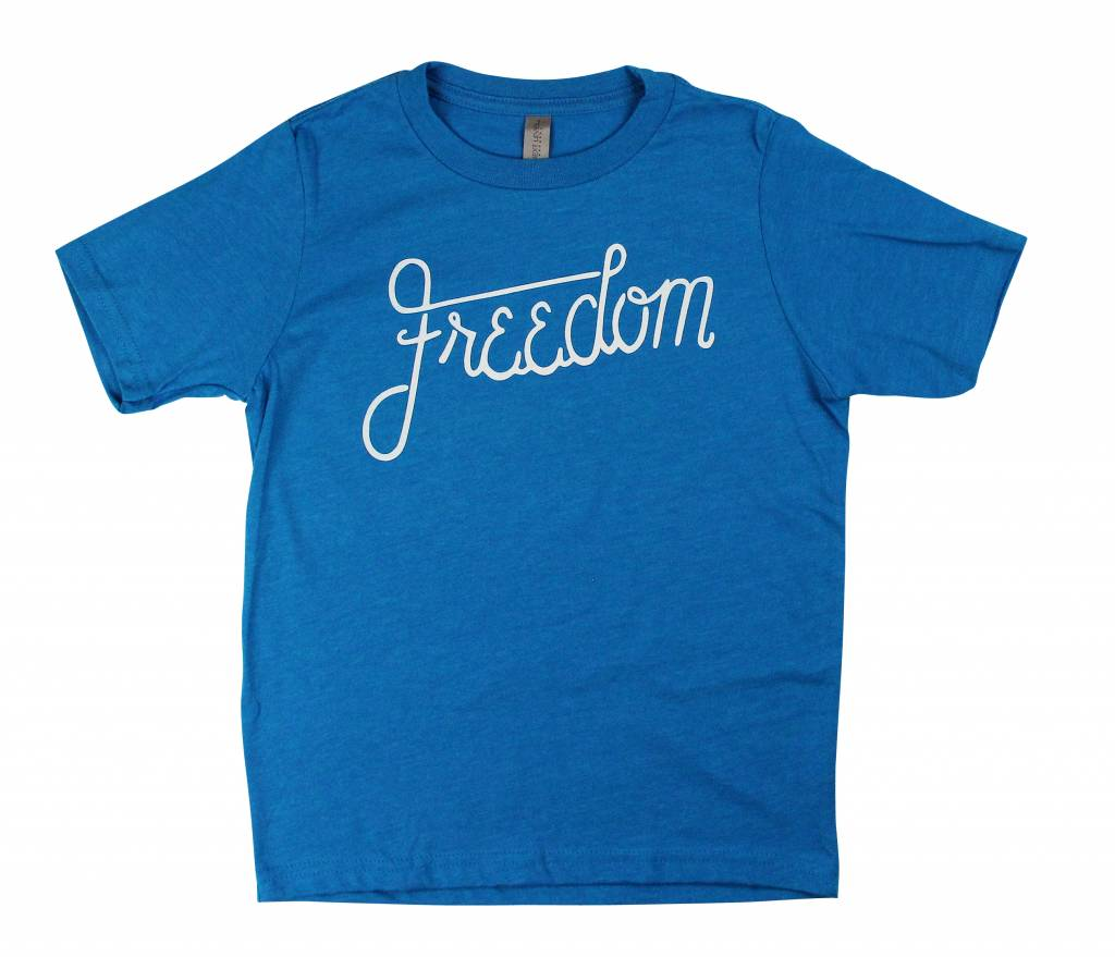 Freedom Boardshop TEE-FREEDOM KIDS SCRIPT