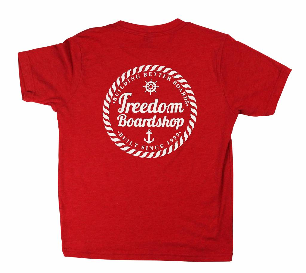 Freedom Boardshop TEE-FREEDOM KIDS SEA