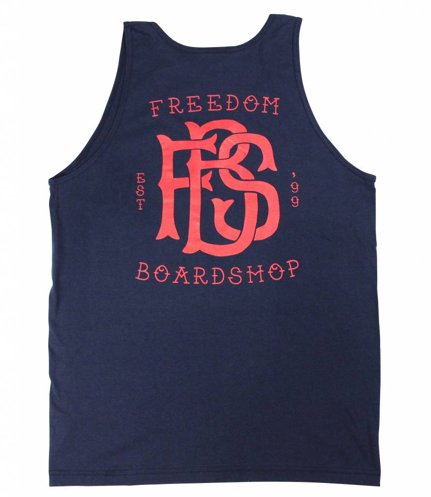 Freedom Boardshop TANK TOP-FREEDOM MONOGRAM