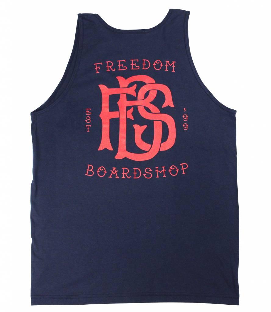 Freedom Boardshop TANK TOP-FREEDOM MONOGRAM