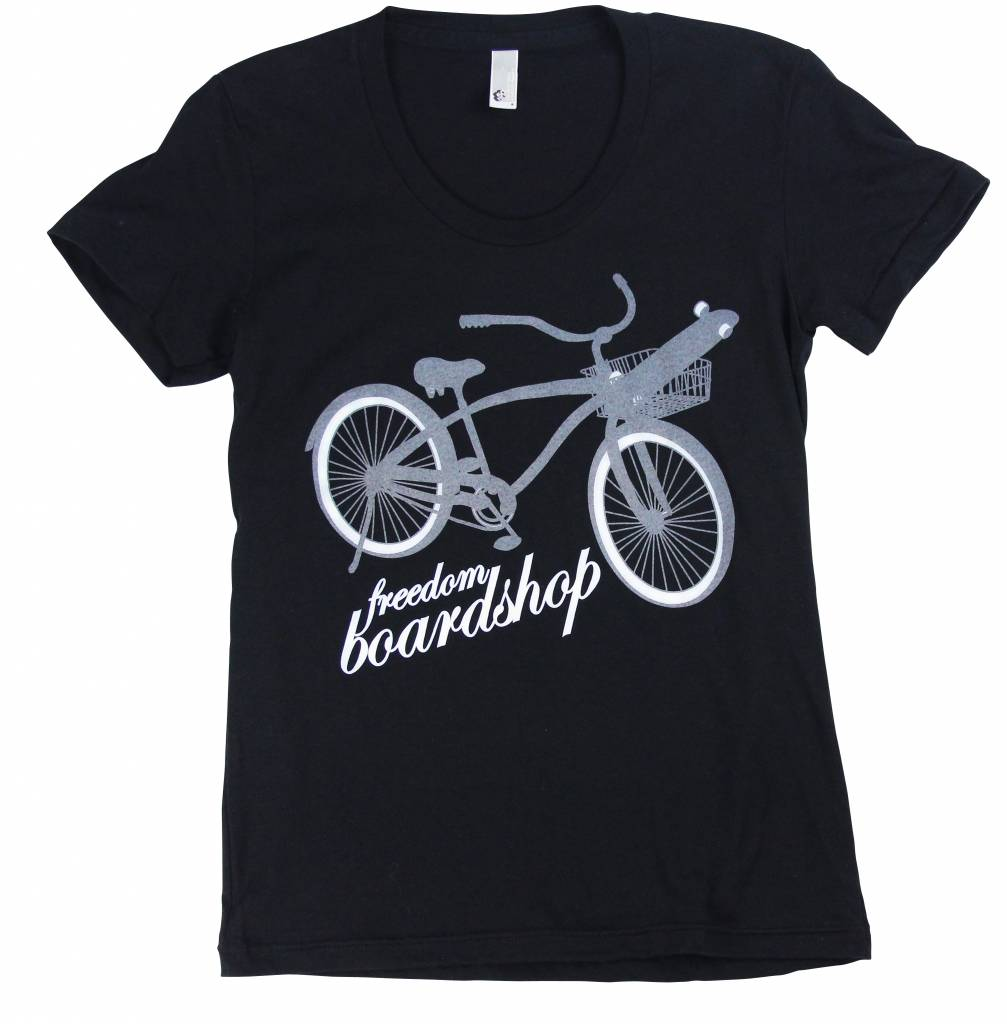 Freedom Boardshop TEE-FREEDOM WOMENS BIKE