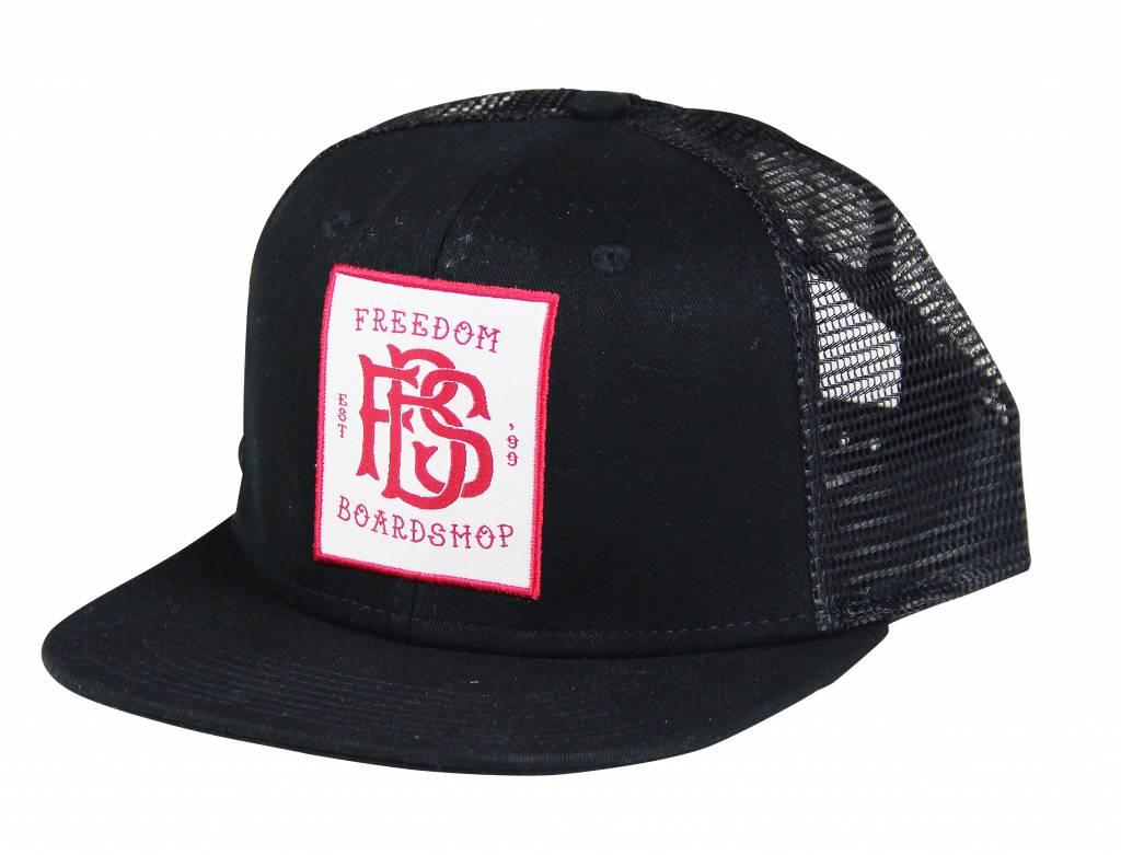 Freedom Boardshop HAT-FREEDOM MONOGRAM TRUCKER