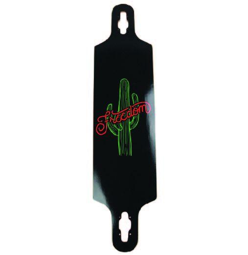 Freedom Boardshop DECK-FREEDOM CACTUS LONGBOARD DROP THROUGH