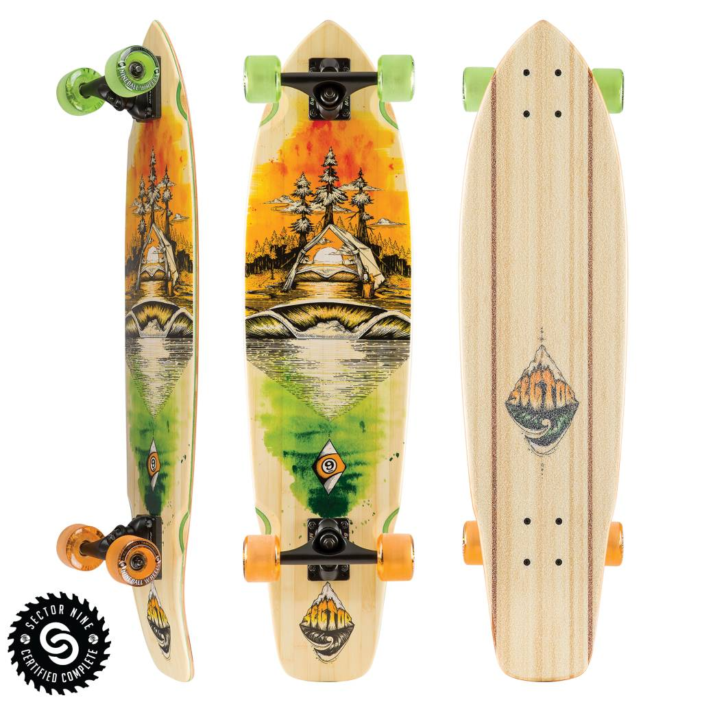 Sector 9 LONGBOARD-SECTOR 9 ODYSSEY FT. POINT