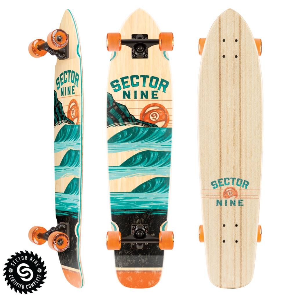 Sector 9 LONGBOARD-SECTOR 9 STACKED STRAND