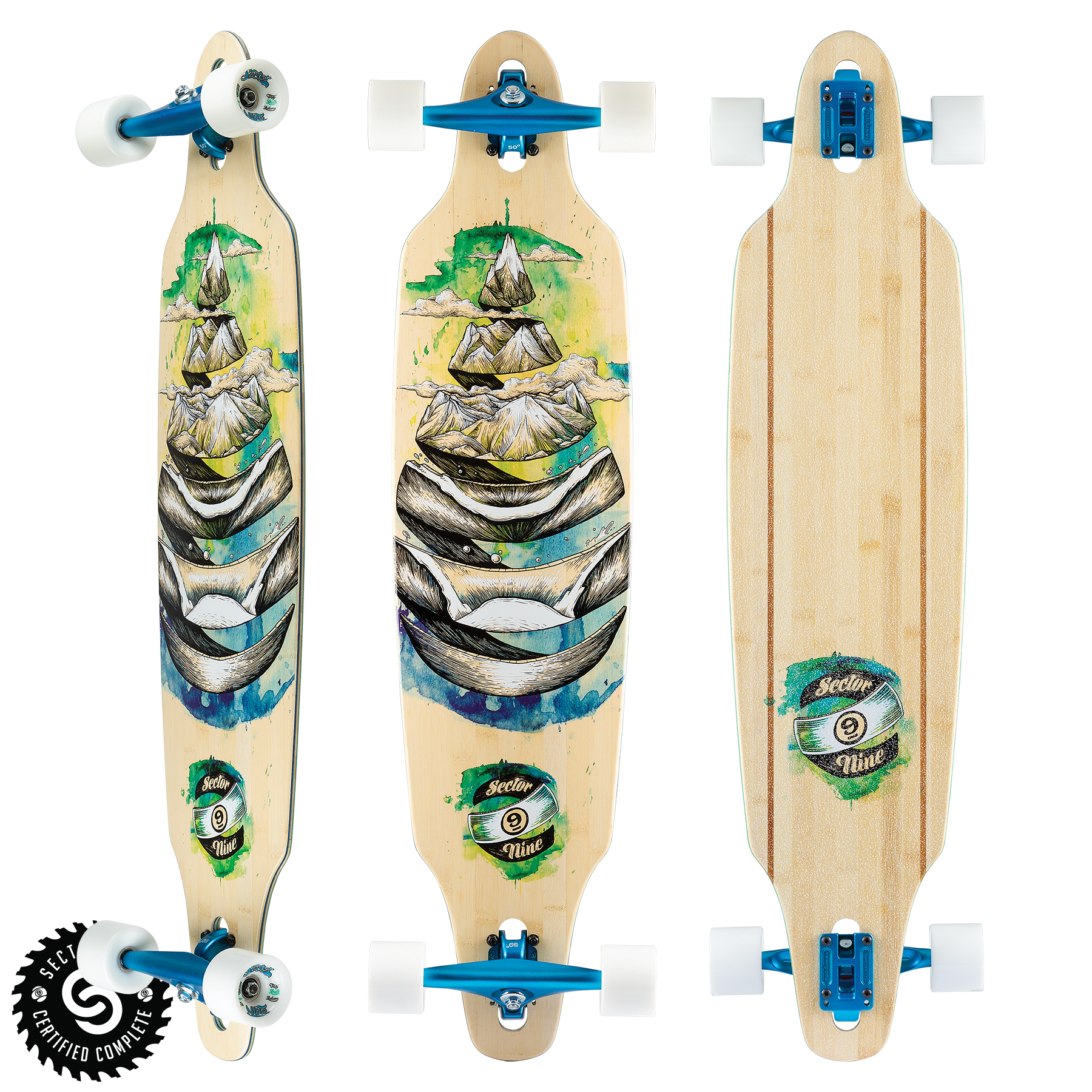 Sector 9 LONGBOARD-SECTOR 9 DROPLET LOOKOUT