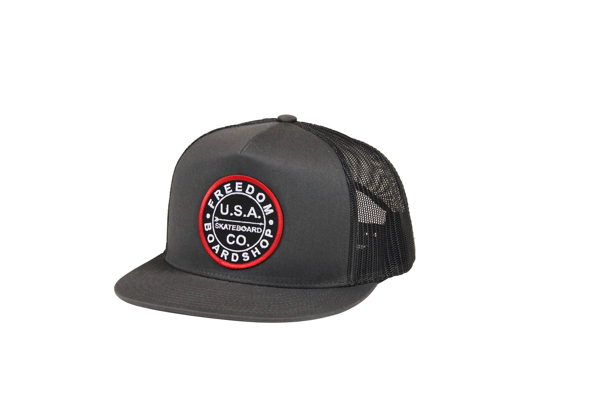 Freedom Boardshop HAT-FREEDOM USA TRUCKER