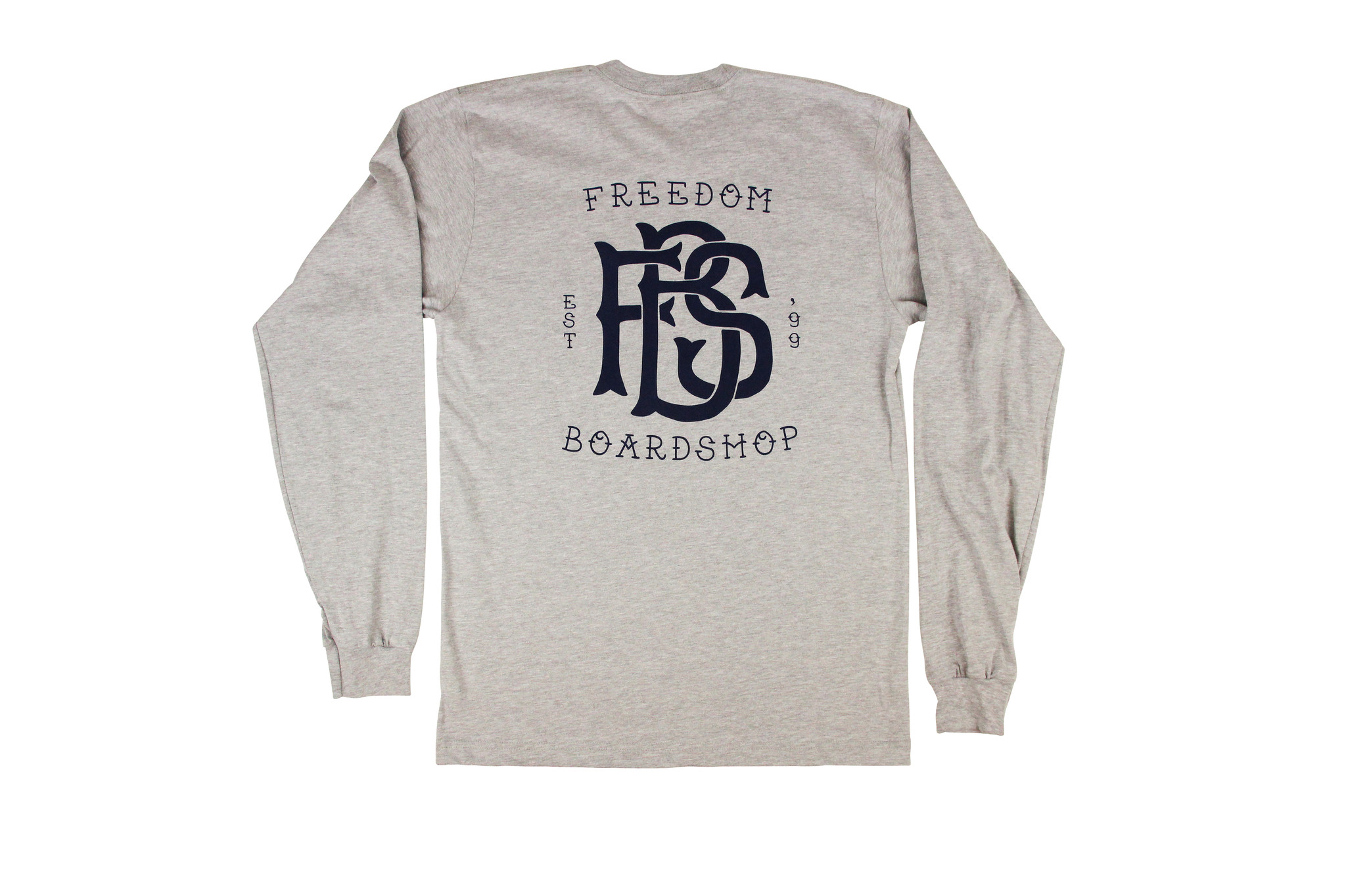 Freedom Boardshop TEE-FREEDOM MONOGRAM L/S