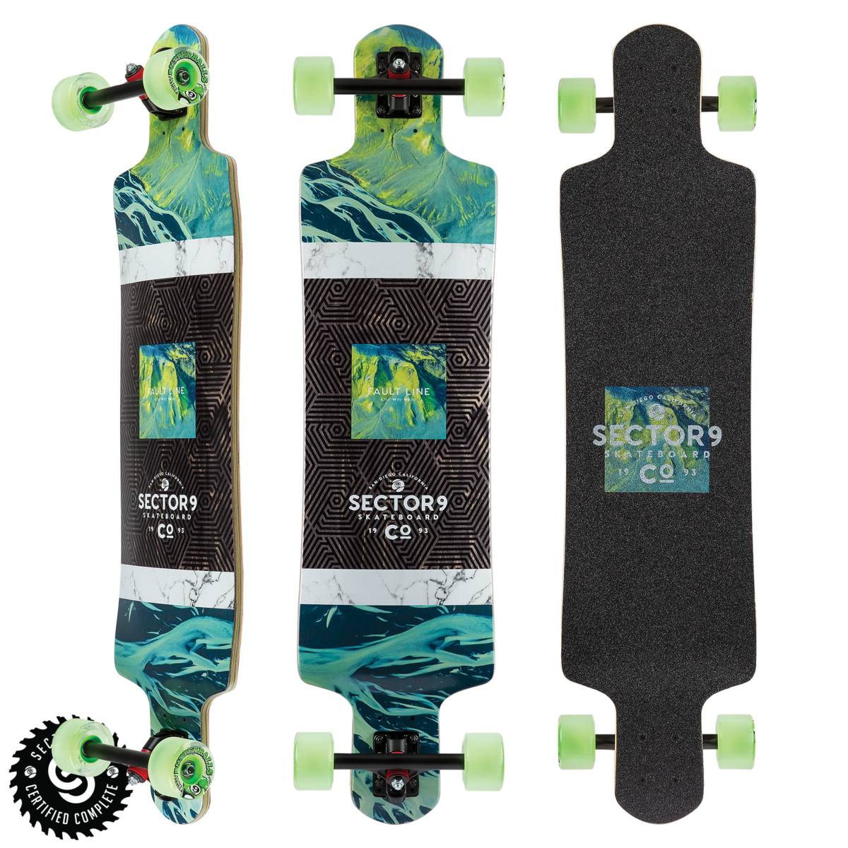 Sector 9 LONGBOARD-SECTOR 9 VALLEY FAULT LINE