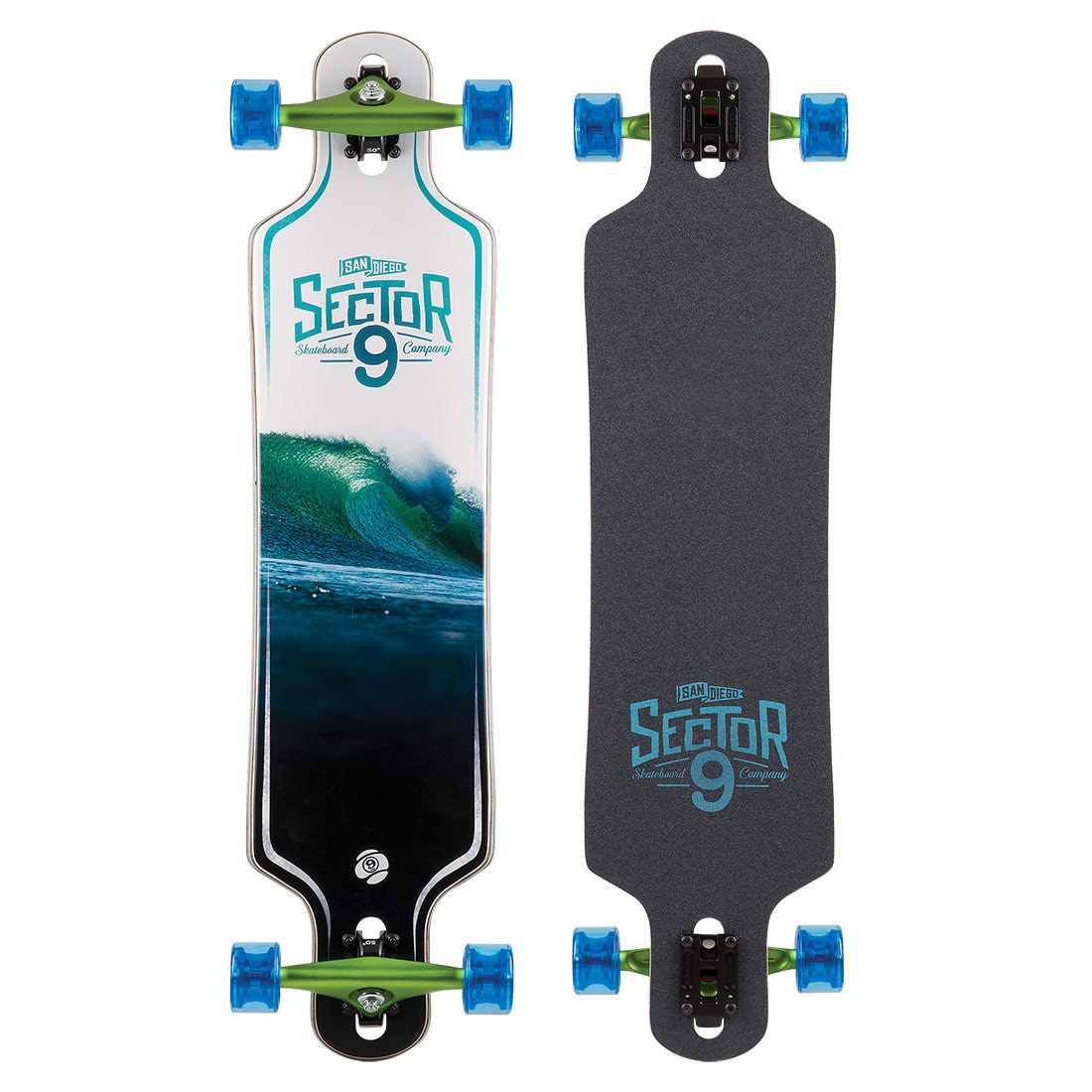 Sector 9 LONGBOARD-SECTOR 9 WHITEOUT