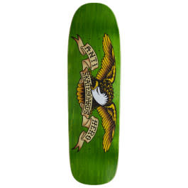 Anti Hero DECK-ANTIHERO SHAPED EAGLE OVERSPRAY GREEN GIANT (9.56)