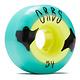 Orbs WHEELS-ORBS POLTERGEISTS TEAL/YELLOW (54)