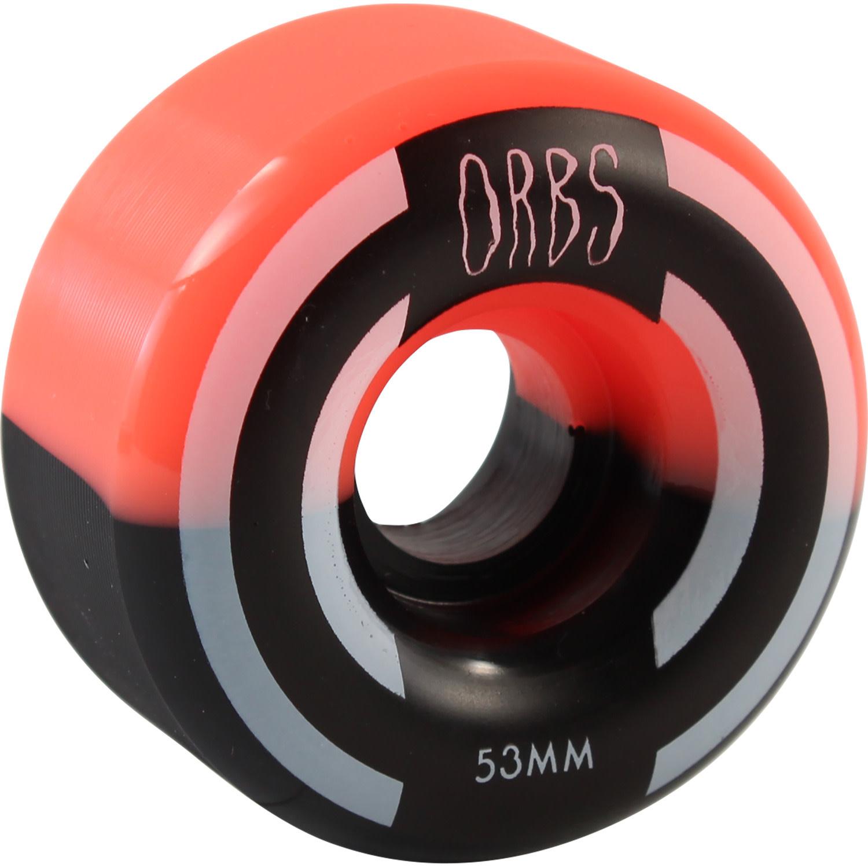 Orbs WHEELS-ORBS APPARITIONS SPLIT CORAL/BLACK (53)