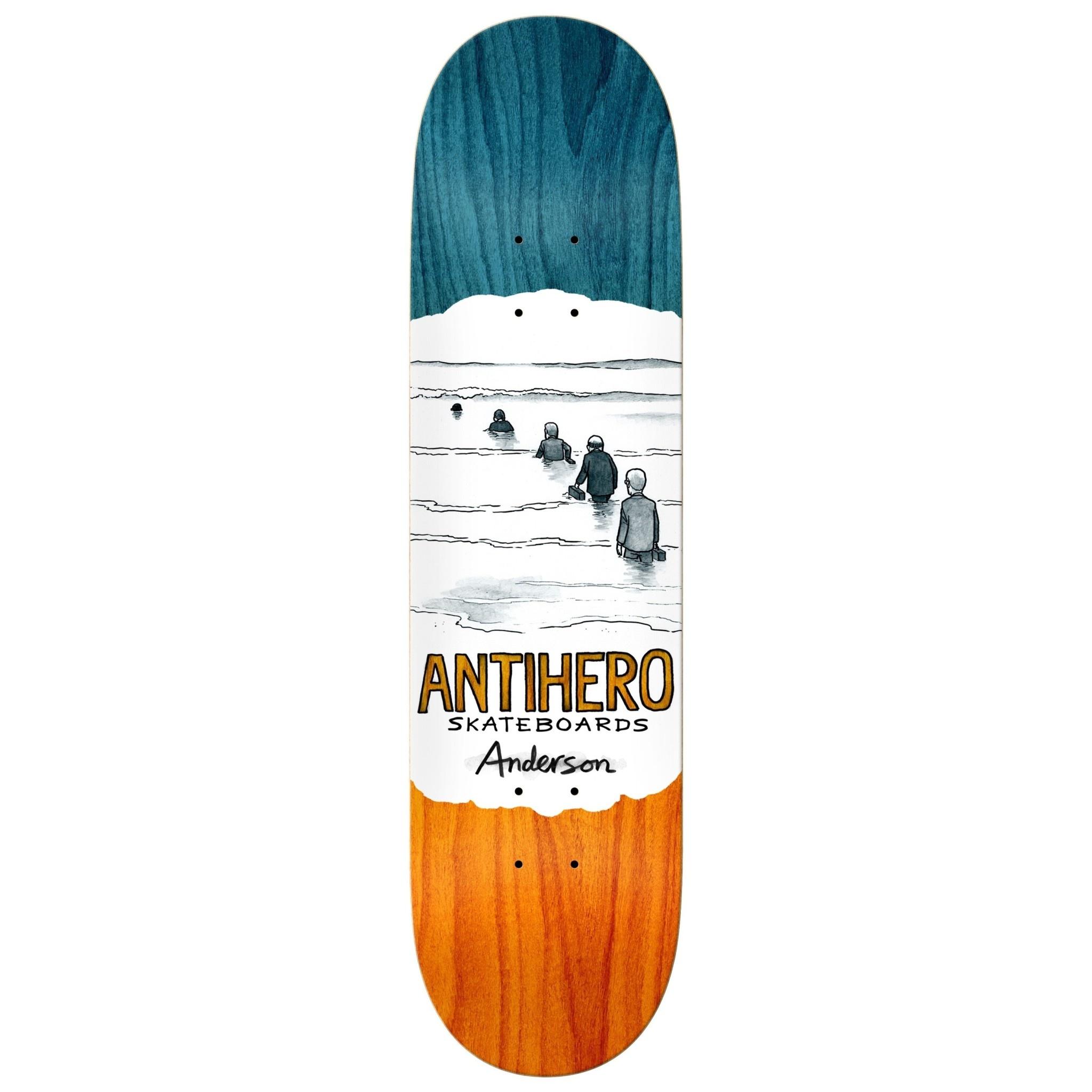 Anti Hero DECK-ANTIHERO OBLIVION ANDERSON (8.25)