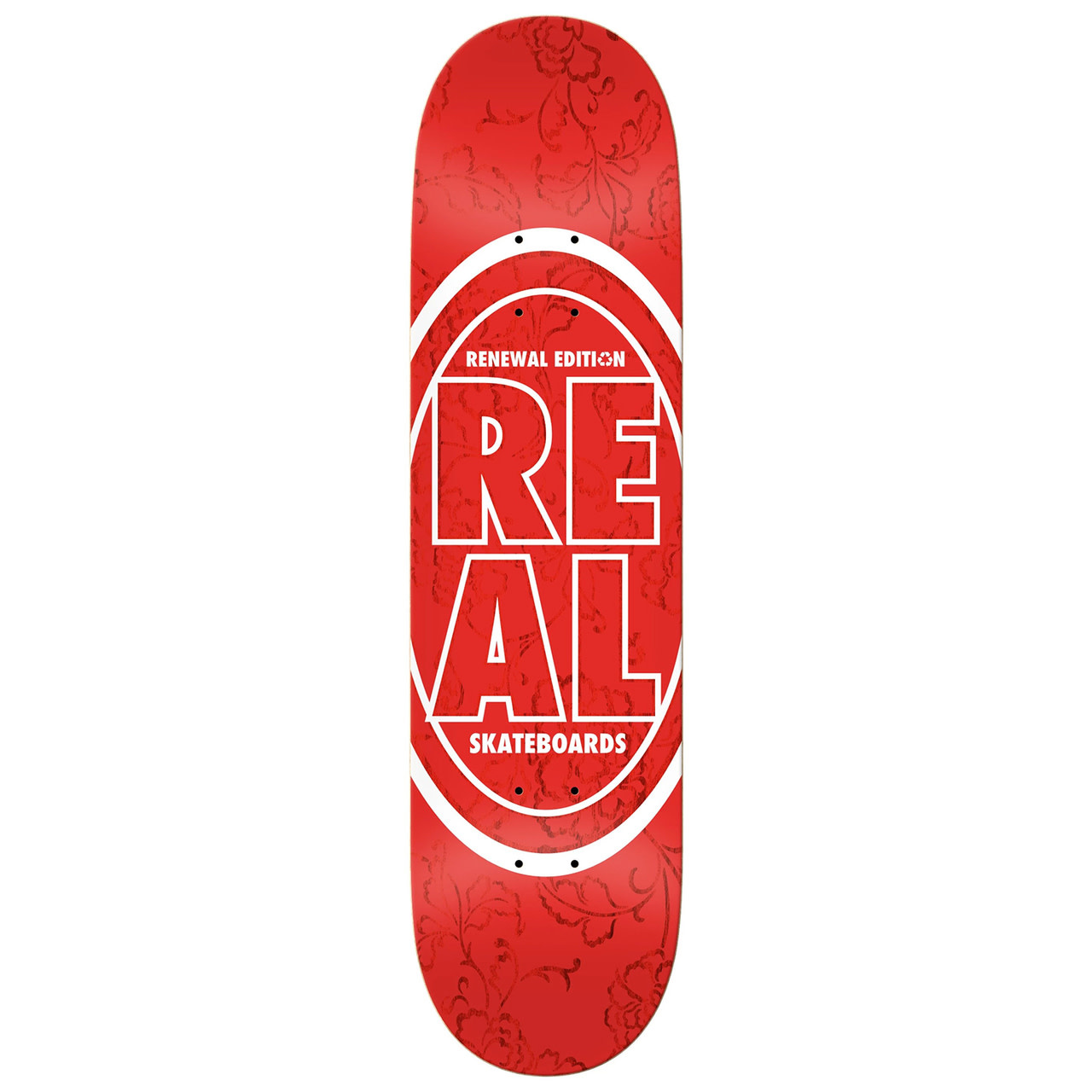 Real DECK-REAL STACKED OVAL FLORAL (7.75)