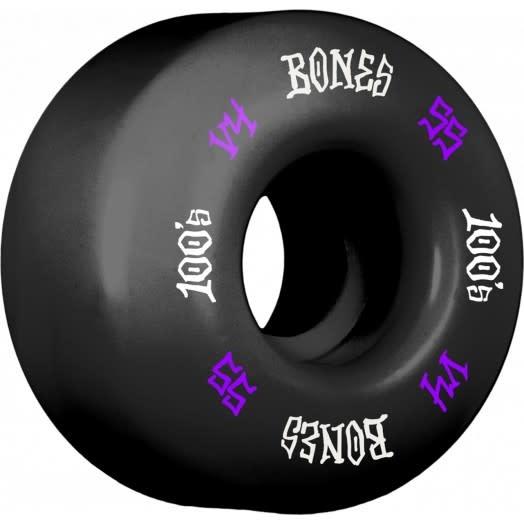 Bones WHEELS-BONES 100's V4 BLACK (55)