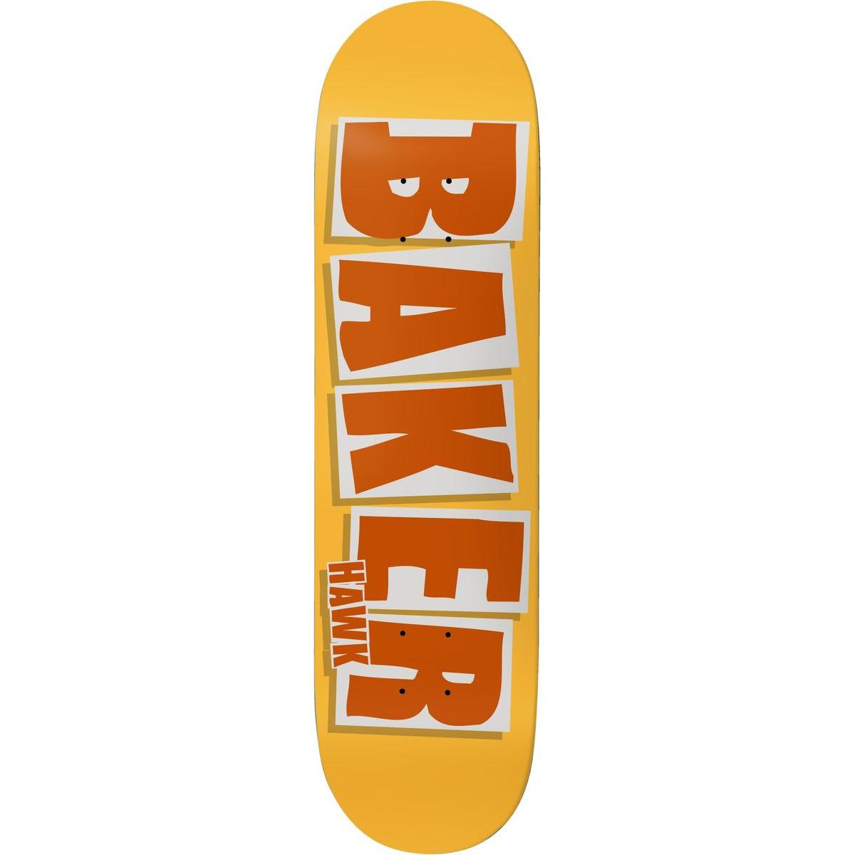 Baker DECK-BAKER BRAND NAME BURNT ORANGE HAWK (7.75)
