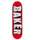 Baker DECK-BAKER BRAND LOGO WHITE (8.25)