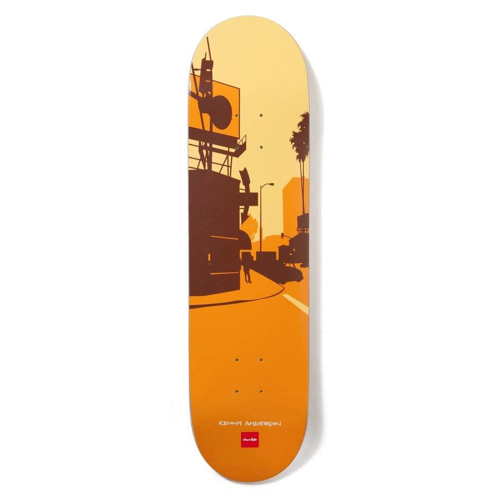 Chocolate DECK-CHOCOLATE CITY SERIES ANDERSON (8.1)