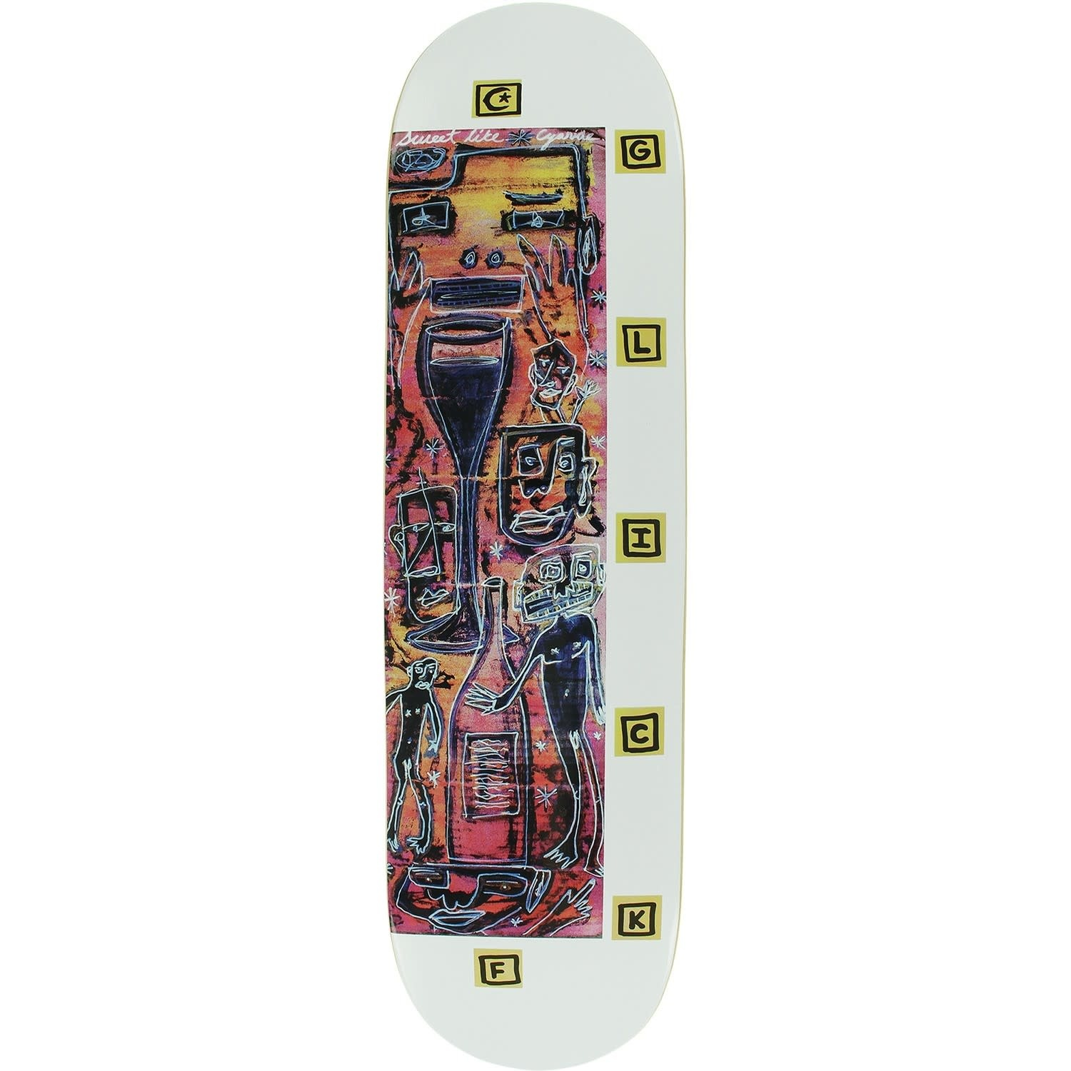 Foundation DECK-FOUNDATION SWEET BERRY GLICK (8.25)