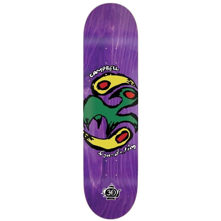 Foundation DECK-FOUNDATION YIN YANG BIRD AIDAN (8.25)