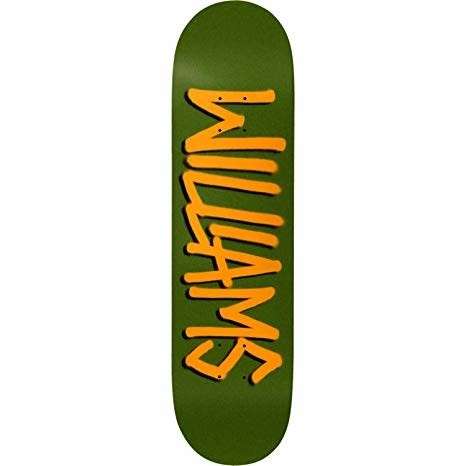 Deathwish DECK-DEATHWISH GANG NAME WILLIAMS (8.1)