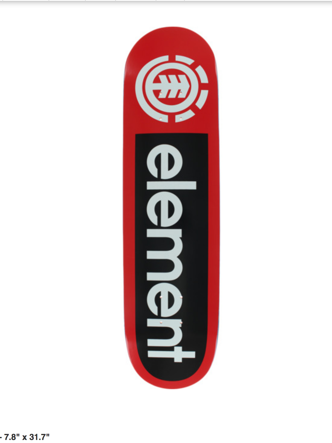 Element DECK-ELEMENT PRIMO RED (7.8)