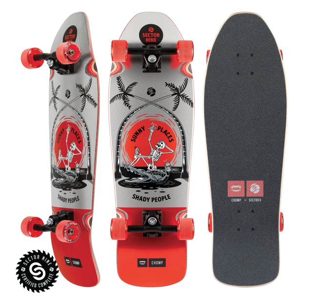 Sector 9 LONGBOARD-SECTOR 9 SUNNY PLACES SEWER