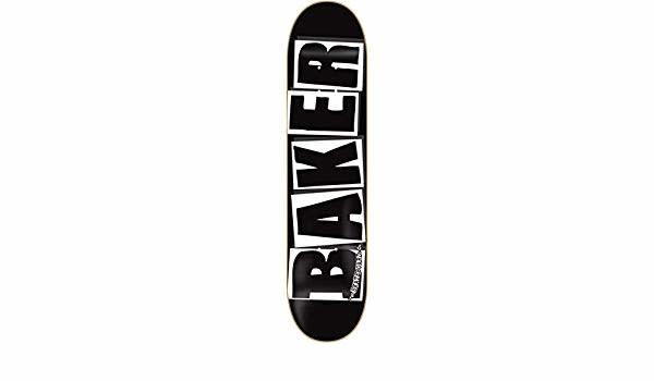 Baker DECK-BAKER BRAND LOGO BLACK/WHITE (8.4)