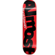 Almost DECK-ALMOST COLOR LOGO RED/BLACK (8)