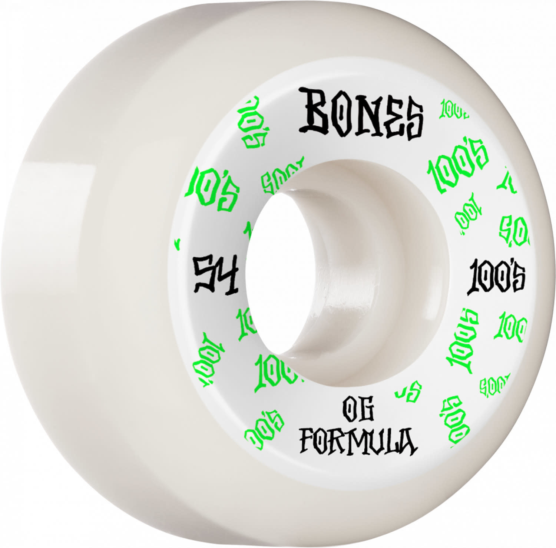 Bones WHEELS-BONES 100's V5 WHITE (54)