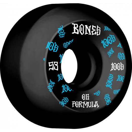 Bones WHEELS-BONES 100's V5 BLACK (53)