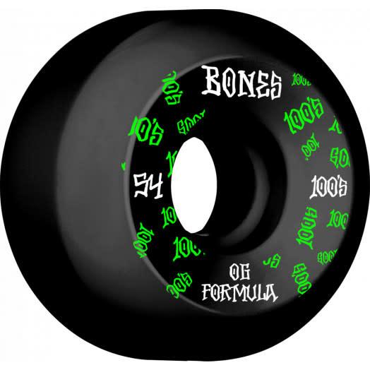 Bones WHEELS-BONES 100's V5 BLACK (54)