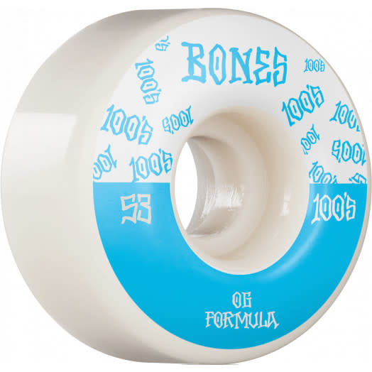 Bones WHEELS-BONES 100's V4 WHITE (53)