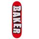 Baker DECK-BAKER BRAND LOGO WHITE (7.56)