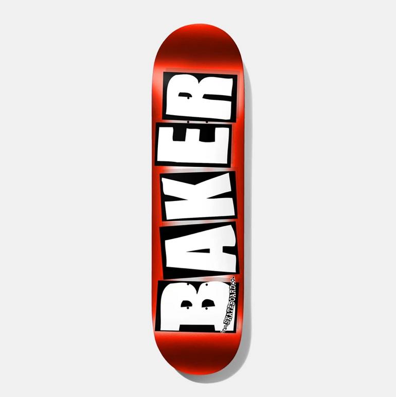 Baker DECK-BAKER BRAND LOGO RED FOIL (8)