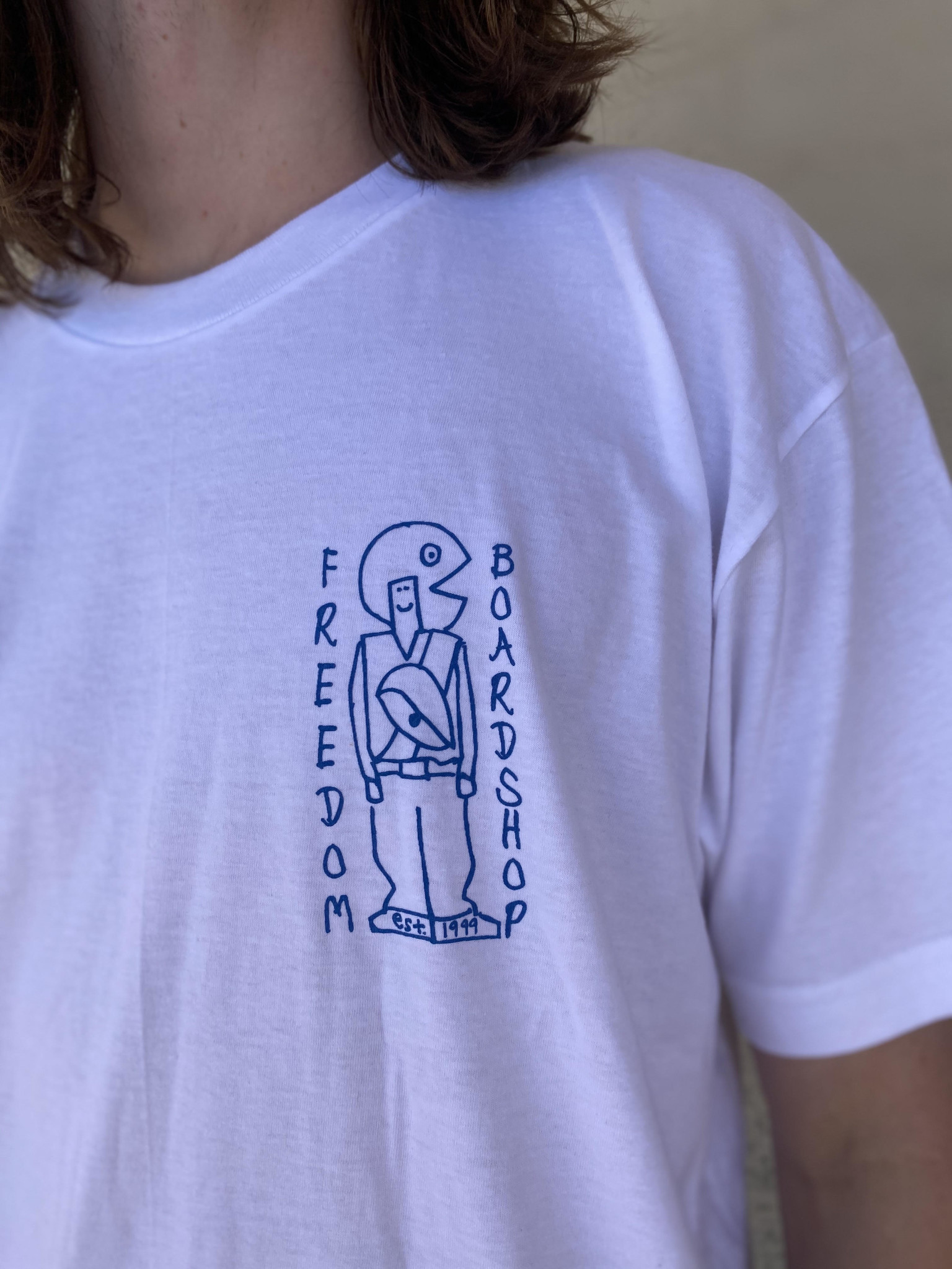 Freedom Boardshop TEE-FREEDOM GONZ SKETCHY