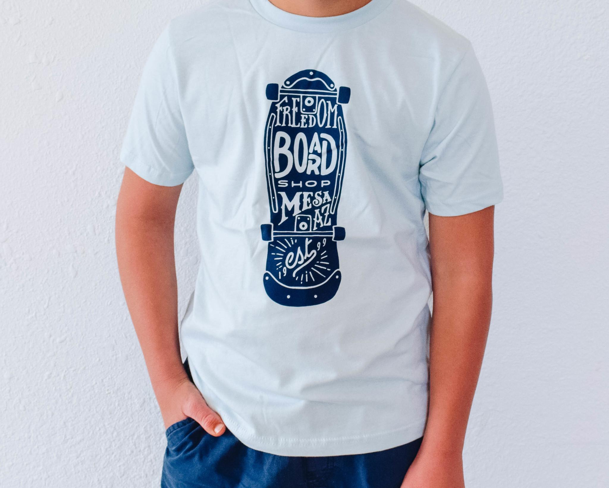 Freedom Boardshop TEE-FREEDOM KIDS 80's SK8