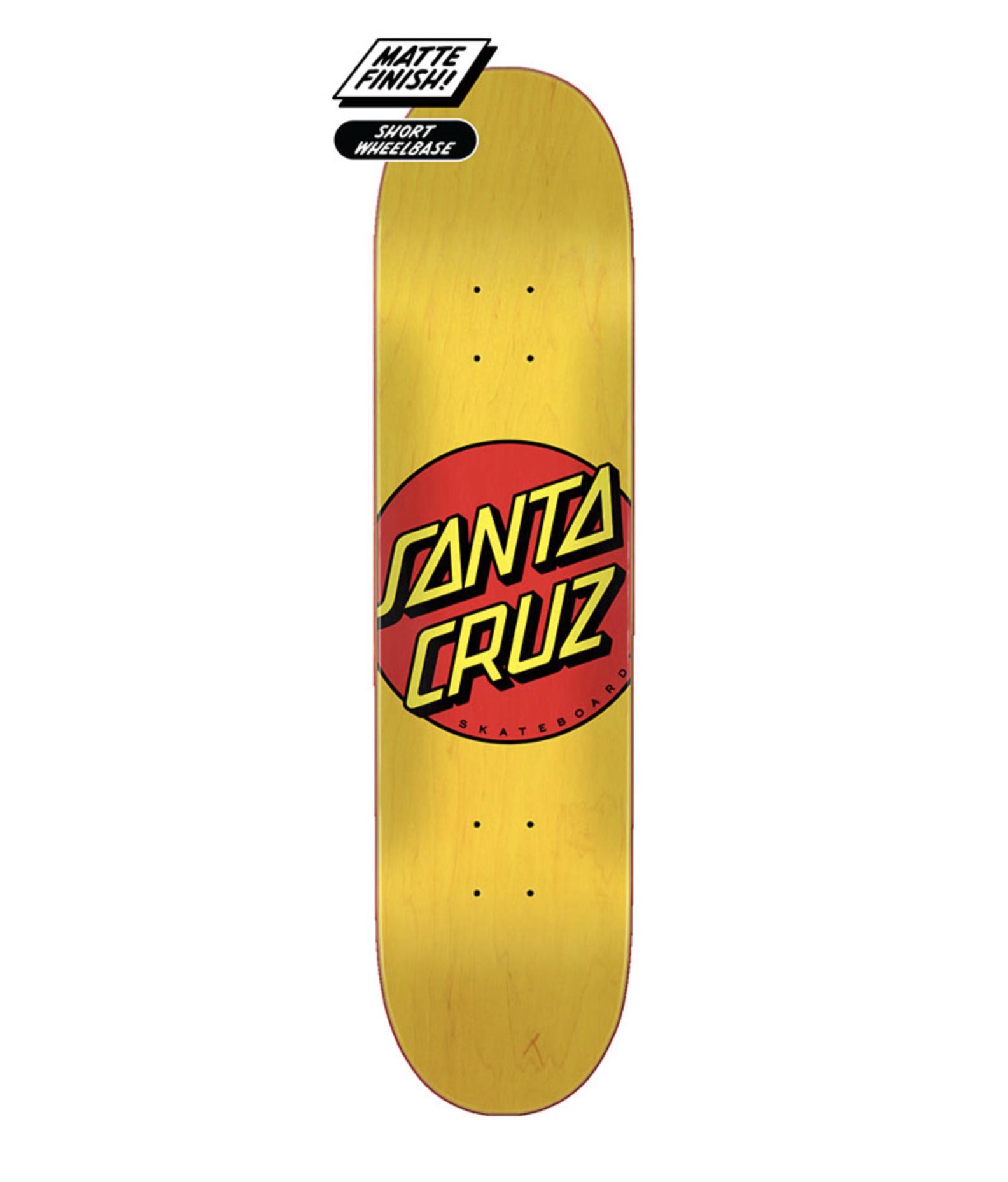 Santa Cruz DECK-SANTA CRUZ CLASSIC DOT (7.75)