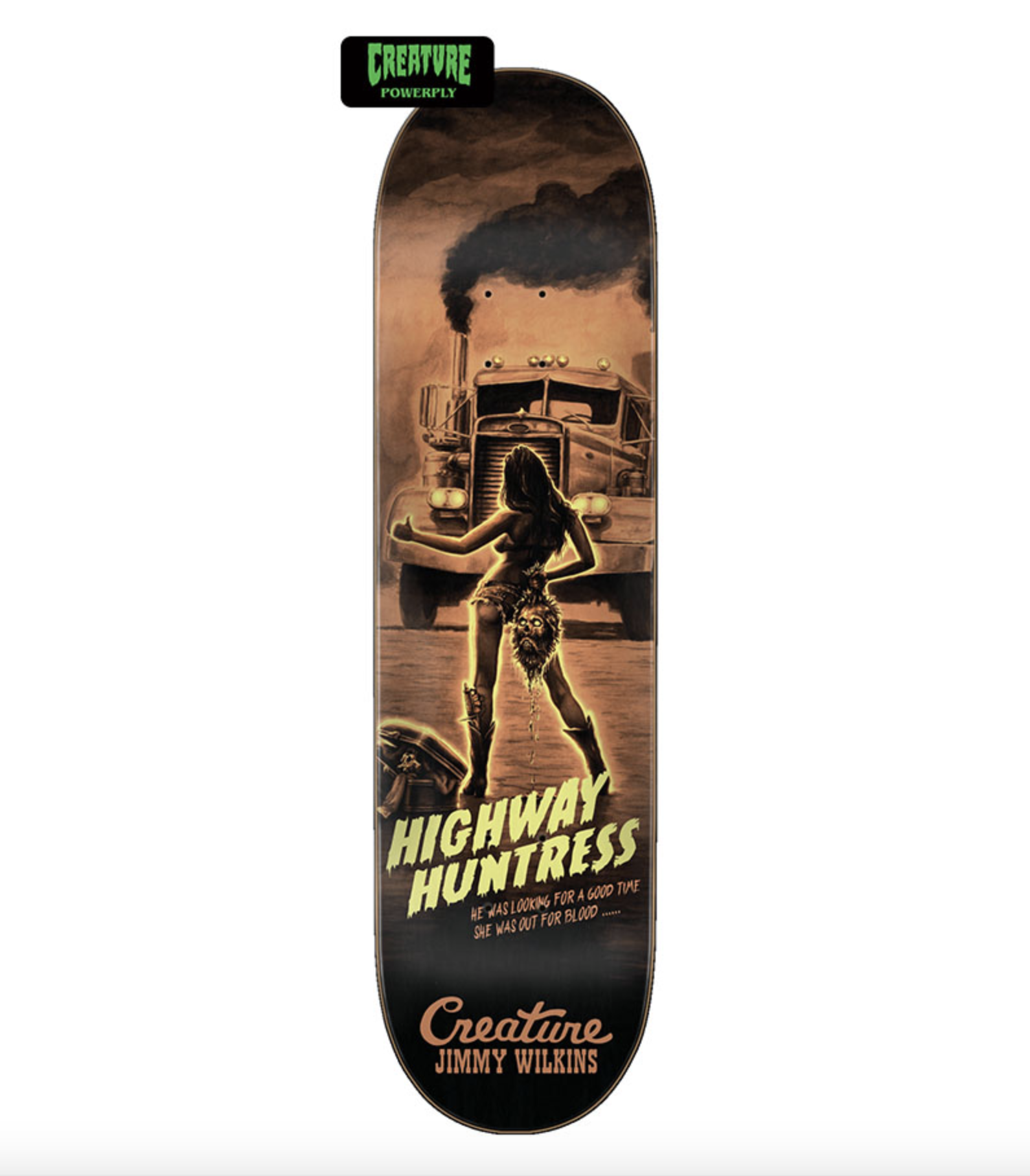 Creature DECK-CREATURE ROADSIDE TERROR POWERPLY WILKINS (8.8)