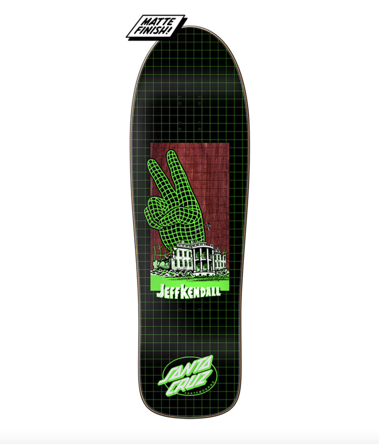 Santa Cruz DECK-SANTA CRUZ ATOMIC PEACE PREISSUE KENDALL (9.7)
