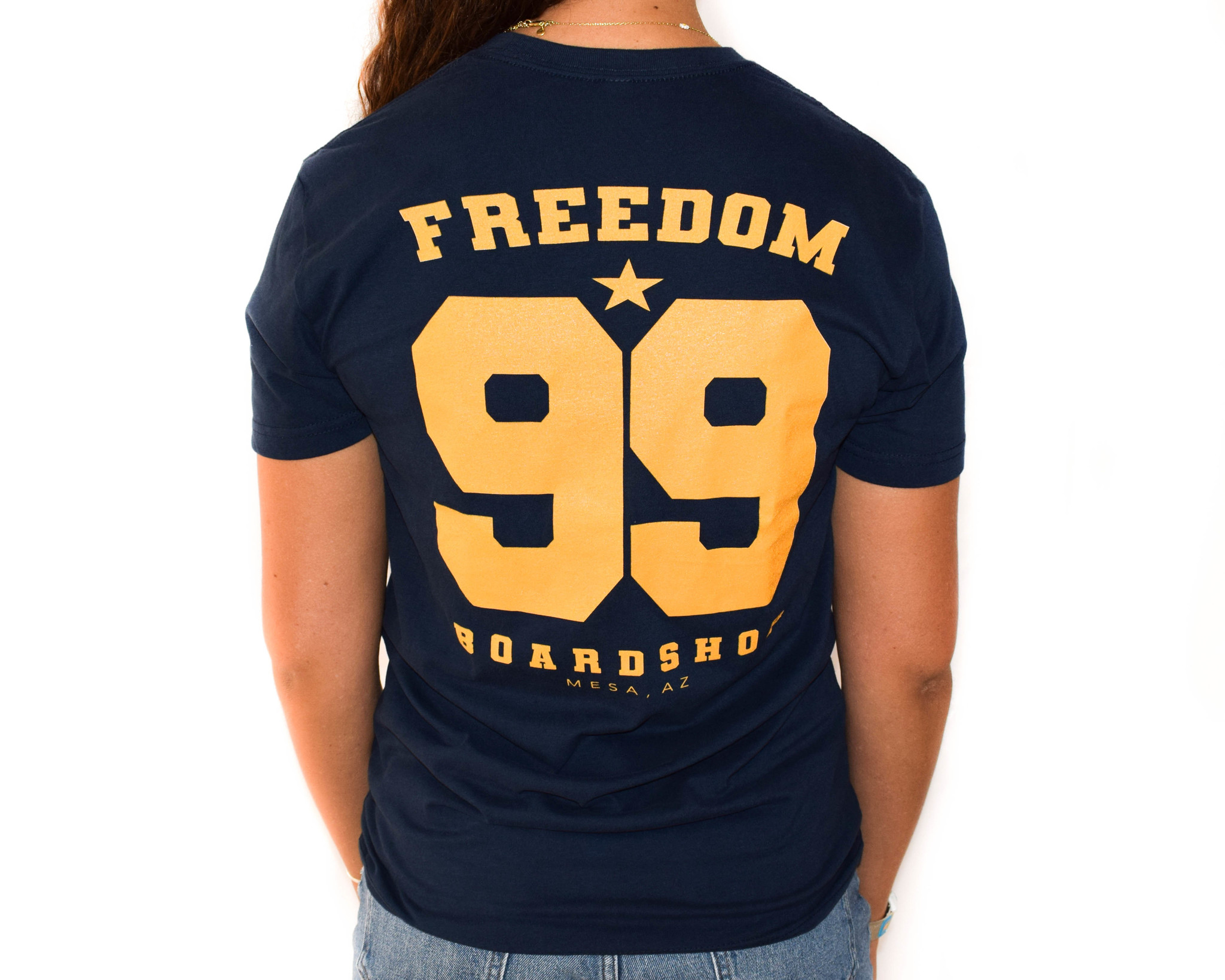 Freedom Boardshop TEE-FREEDOM VARSITY
