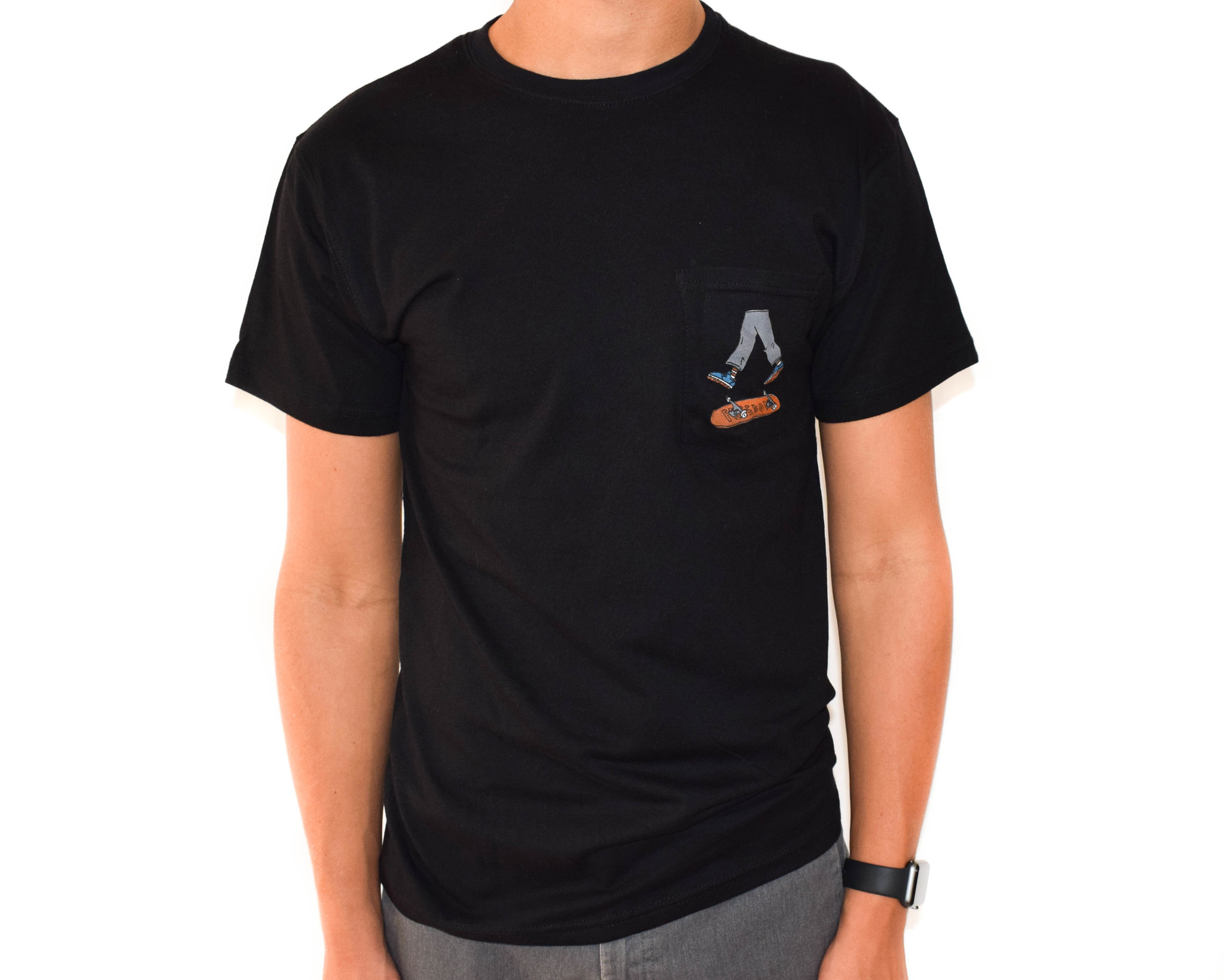 Freedom Boardshop TEE-FREEDOM KICKFLIP POCKET
