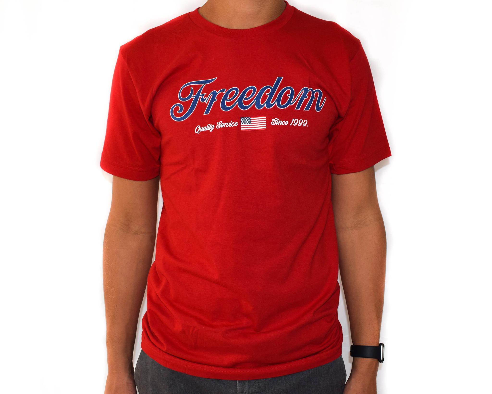 Freedom Boardshop TEE-FREEDOM QUALITY SERVICE