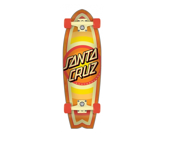 Santa Cruz LONGBOARD-SANTA CRUZ GLEAM DOT SHARK
