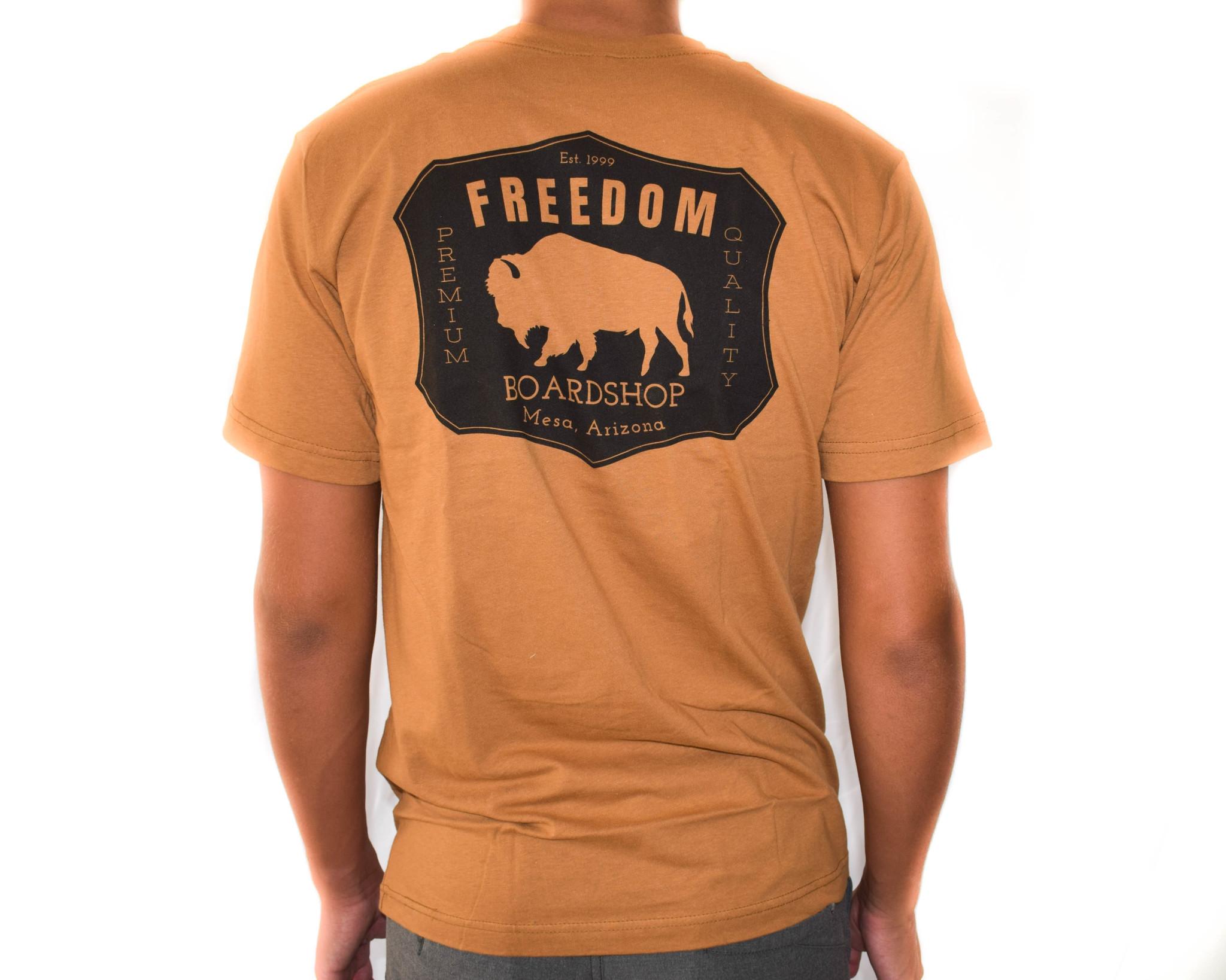 Freedom Boardshop TEE-FREEDOM BISON