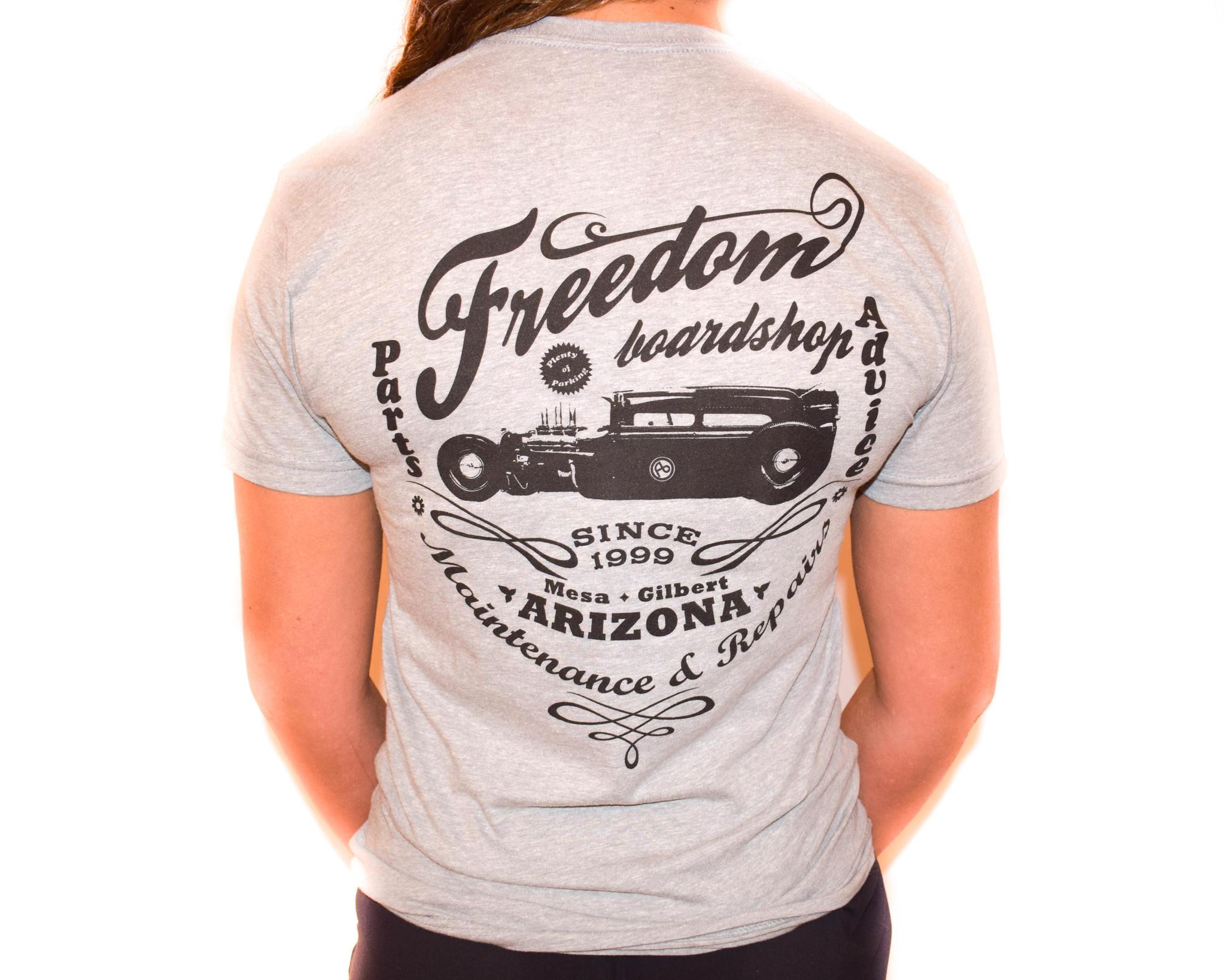Freedom Boardshop TEE-FREEDOM HOT ROD