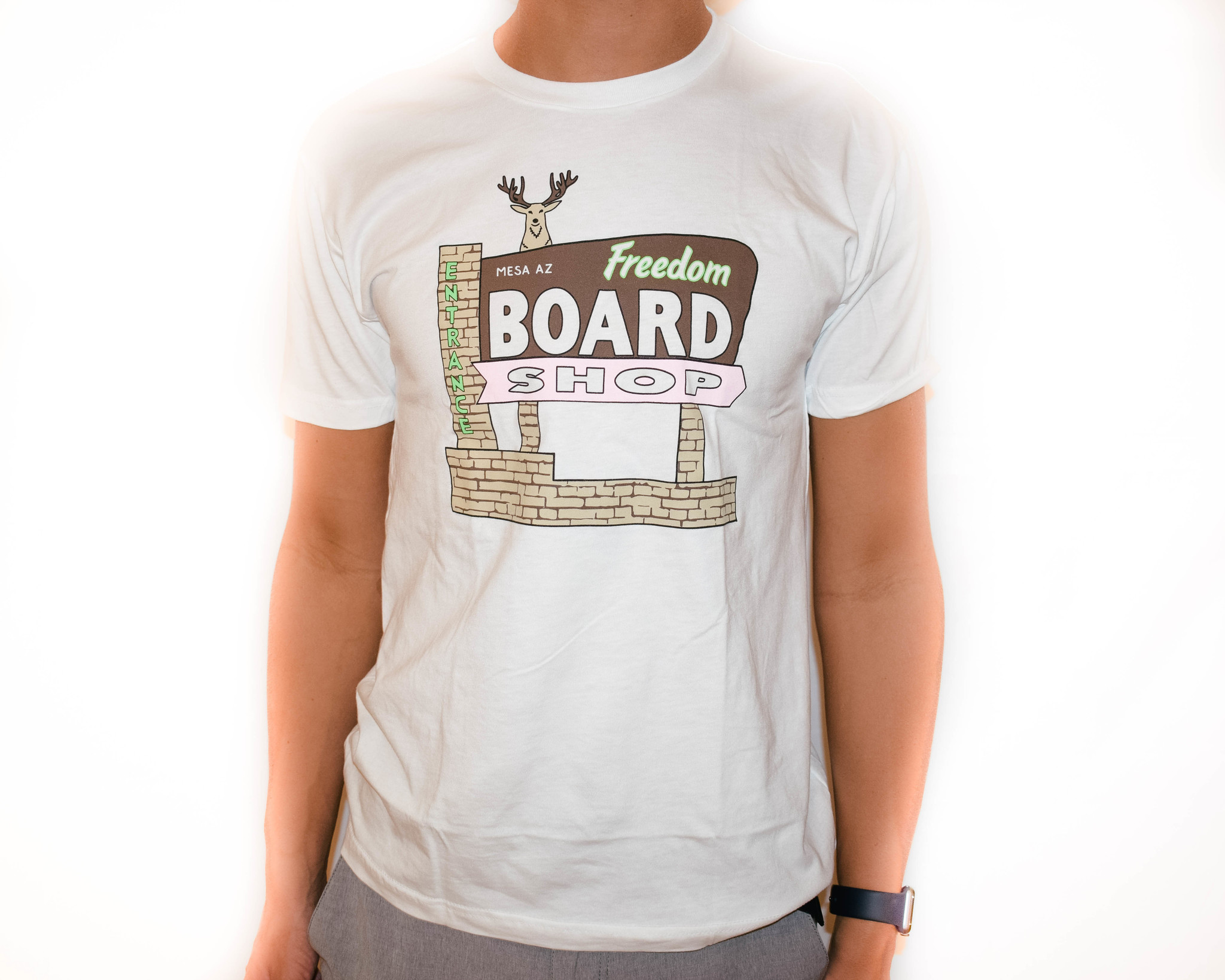 Freedom Boardshop TEE-FREEDOM BUCKHORN